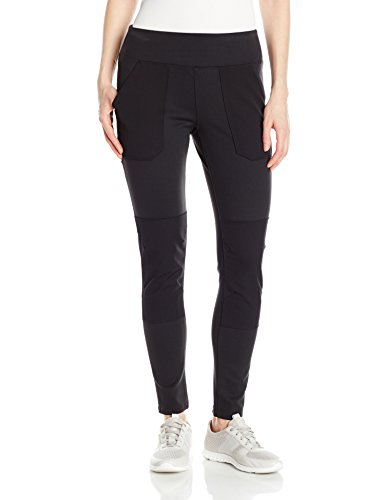 Carhartt Women's Force Stretch Utility Legging (Regular and Plus Sizes), Deep Black, Large ()