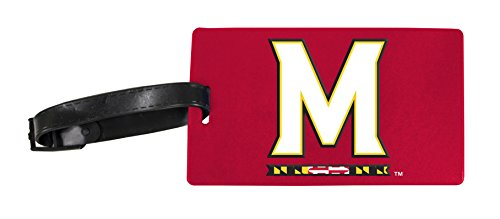 Maryland Terrapins Luggage Tag 2-Pack by R and R Imports