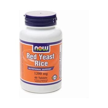 Amazon.com: Now Foods, Red Rice Yeast Extract 1200Mg, 60