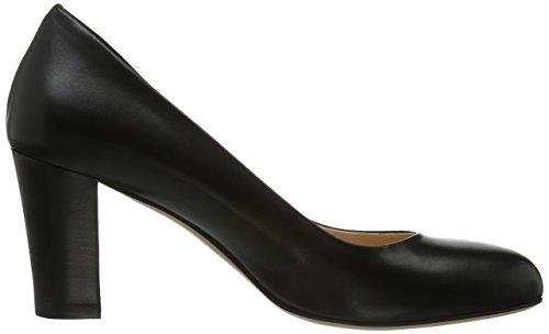 Evita Du Noir À Chaussures Shoes Pieds Femme Talons Couvert Avant XRrXwg