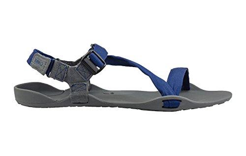 Scarpe Xero Piedi Nudi Ispirati Sandali Sportivi - Z-trek - Uomini - Nero Carbone / Nero 10 M Ci Carbone / Patriota Blu