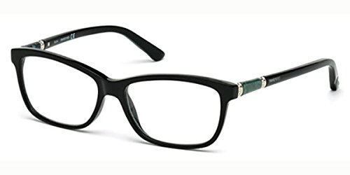 Swarovski VSW.05158.001.55 Monturas de Gafas para Mujer, Transparente, 55 mm