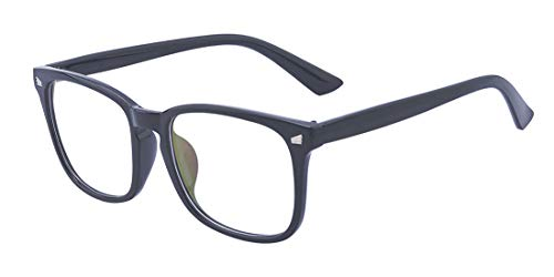- Outray Unisex Non-prescription Eyeglasses Glasses Clear Lens Eyewear Black Square