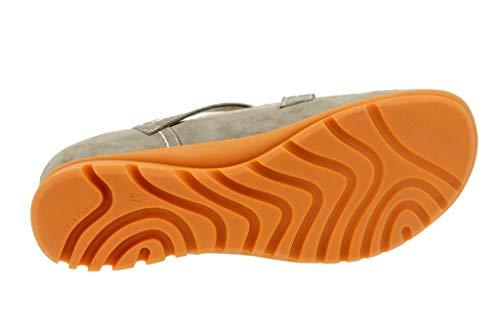 Cómodo Zapato Piesanto 6529 Vison Mujer Suede Mary jane Oddw8Ux