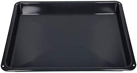 Bandeja de horno 465 x 385 mm esmaltada adecuada para AEG 140024698023 3879056202 para horno Estufa