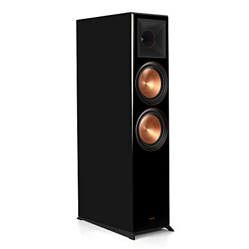 Klipsch Reference Premiere RP-8060 FA Floorstanding, Dolby Atmos Speaker in Piano Black