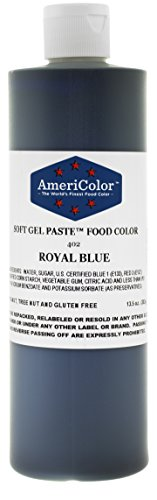 Americolor Soft Gel Paste Food Color, 13.5-Ounce, Royal Blue by AmeriColor