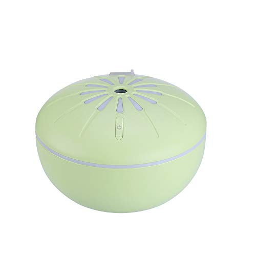 ❤️Byedog❤Simple Humidifier Orange LED Humidifier Air Purifier Atomizer Home Office (Green)