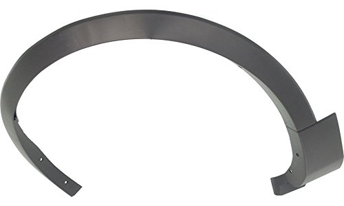 Ford Explorer Fender Flares (Evan-Fischer EVA216041615406 Fender Flare for 2011 Ford Explorer Front Left Side Thermoplastic Textured Black Replaces Partslink Number FO1290126)
