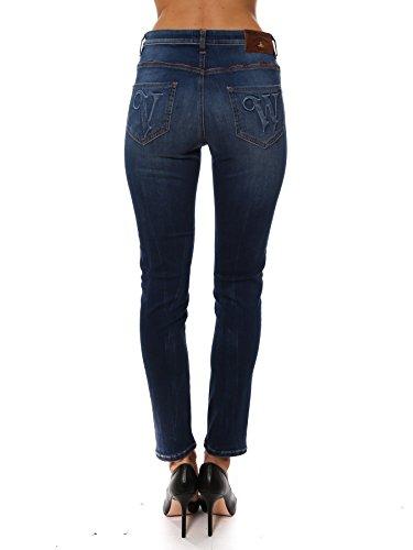 Coton Jeans Vivienne Bleu Westwood Femme DS0IW6DS09Y01 wxqIP0FY