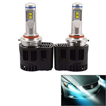 Uniqus 2 PCS ZY-HB3 H10JGDP6-55W Philips MZ 5200LM 6000K White Light Car LED Head Lamp with Driver, DC 11-30V