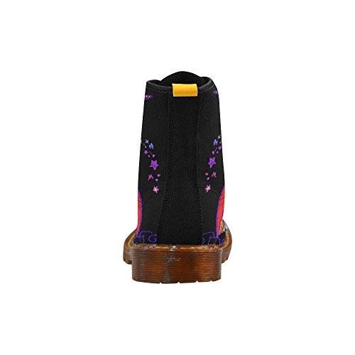 Lacet De Licorne Dimpressionprint Bottes De Mode De Chaussures Pour Des Femmes