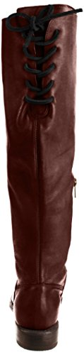 Manchester Women's High Knee Rustic Bed Boot Stu Scarlett Dark v4BwEE