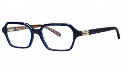 TORY BURCH Eyeglasses TY 2043 1304 Navy W T Print - Burch T Tory All