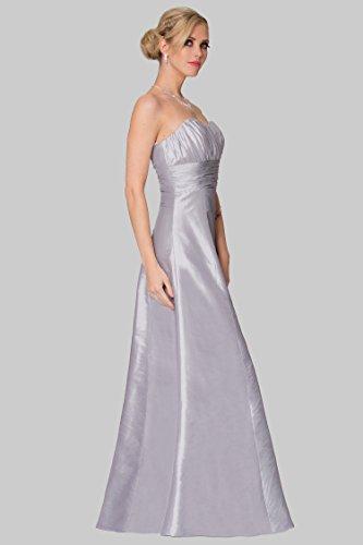 SEXYHER voller L?nge tr?gerlose Brautjungfer formales Abend-Kleid -EDJ1651 Lightgrey-113t ALJva9T