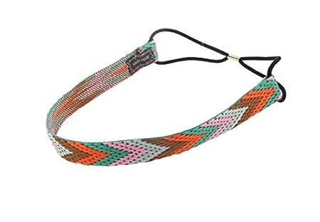 Lavillede Women's braided, colored, elasticated hair band Yoga sweet headband rosa Lavillede Women' s braided