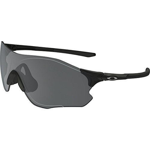 Oakley Mens EVZero Path Asian Fit Sunglasses, Polished Black/Black Iridium, One - Asian Fit Oakley Glasses