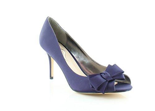 Grape Luster Satin (Nina Florice Women's Heels Grape Luster Size 11 M)
