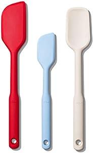OXO Conjunto de 3 espátulas de silicone Good Grips