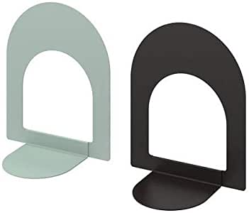 BOTTNA IKEA Sujetalibros (2 Unidades), Color Gris y Gris
