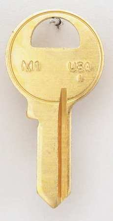 Key Blank Brass Type (Key Blank, Brass, Type 1092, 4 Pin, PK50)