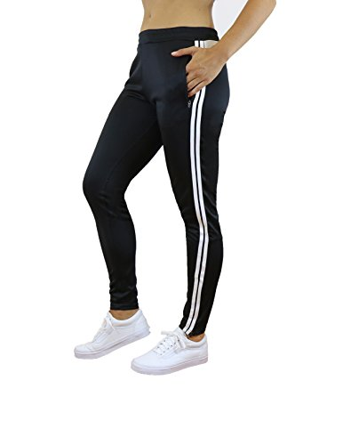 - Galaxy by Harvic Ladies Soccer Athletic Training Sweat Track Pants