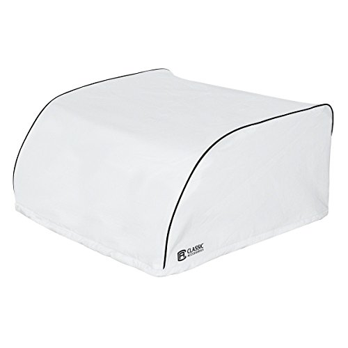 Classic Accessories White Dometic Brisk II RV Air Conditioner Cover