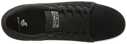 Black DVS Scarpe Schwarz da Suede Aversa – Unisex Adulto Skateboard Shoes BxBAPa