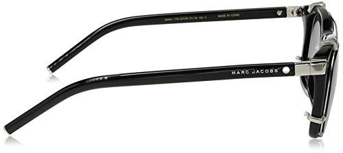 Marc Jacobs - MARC 17/S,Géométriques acétate homme Z07/UR: Black / Palladium