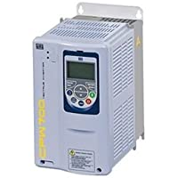 WEG CFW700B33P5T2DBN1 CFW700 Series Variable Frequency Drive, 12.5 HP, 33.5 A, 230 V, 3 Phase Input, 3 Phase Output