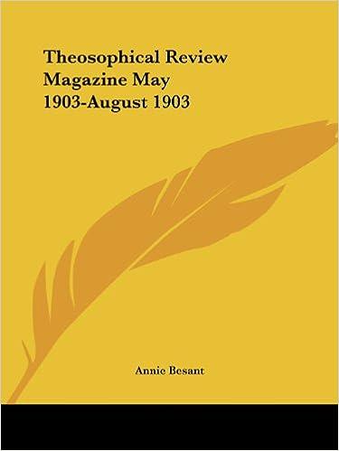 Ebooks kostenlos online oder herunterladen Theosophical Review Magazine May 1903-August 1903 PDF PDB CHM 0766153282