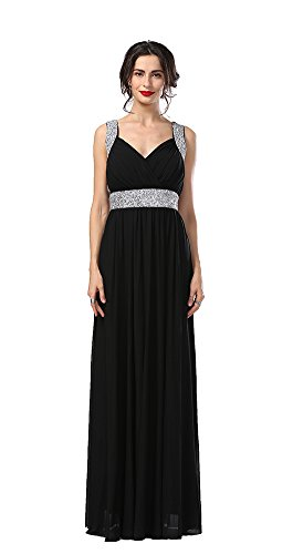 long black grecian dress - 3