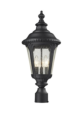 Gothic Outdoor Lamp Post - 3