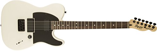 fender 301020580 squier by jim root telecaster electric guitar flat white rosewood. Black Bedroom Furniture Sets. Home Design Ideas