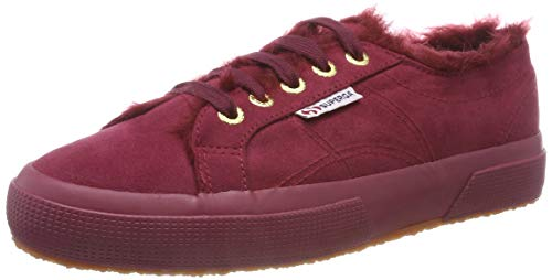 Trainers Bordeaux Red Superga 972 Rot 2750 Full Women's Synshearlingw wqtAF