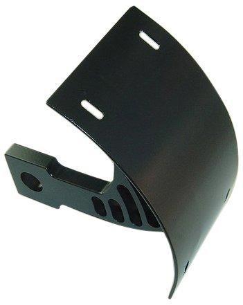 - Yana Shiki YS2549022 Black Swing Arm Mount Tag Bracket for Kawasaki ZX-10 R