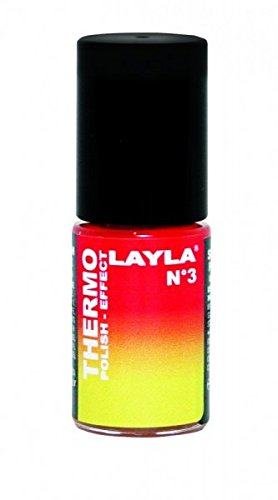 THERMO-NAGELLACK - LAYLA THERMO POLISH EFFECT - RED TO YELLOW