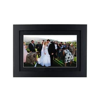 Polaroid XSA-01140B 11-Inch 512MB Digital Photo Frame & MP3 Player, Black