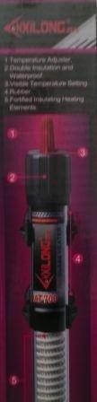 PCMOVILES -- CALENTADOR ACUARIO XILONG AT-700 100W: Amazon.es: Electrónica