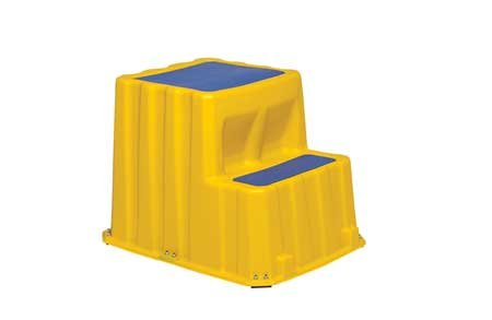 Step Stand, Yellow, 20'' H by PREMIER PLASTICS