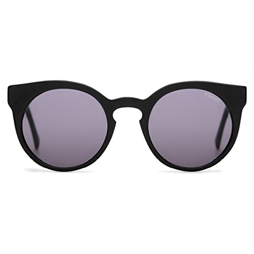 Komono Kom-s2005 Crafted Lulu Unisex Black / Grey Round - Sunglasses Lulus