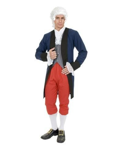 Charades Little Boy's Benjamin Franklin Colonial Childrens Costume, as Shown, Medium -