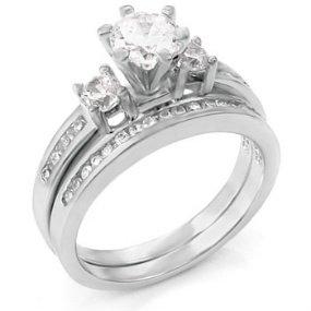 amazoncom 3 pieces mens womens his womens set - Amazon Wedding Rings