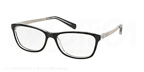 Michael Kors Nevis Eyeglasses MK4017 3033 BlackCrystal 55 16 135