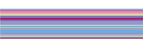 (Brewster WPS90250 Wall Pops Ribbon Candy Purple Stripe, Single Strip)