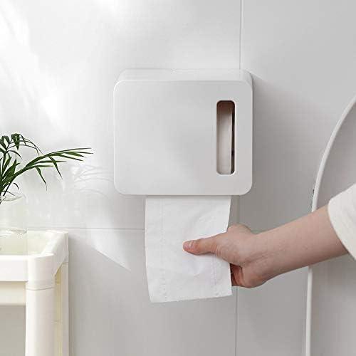 GYCOZ Tissue-Box Wand-Tissue-Box für Toilettenpapier Toilettenpapier-Box Wasserdichter, stanzfreier Papierhandtuchhalter Tissue Box Cover Gesicht