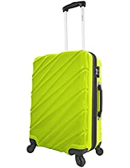 Viaggi Burano Hardside 24 Inch Spinner, Green, One Size
