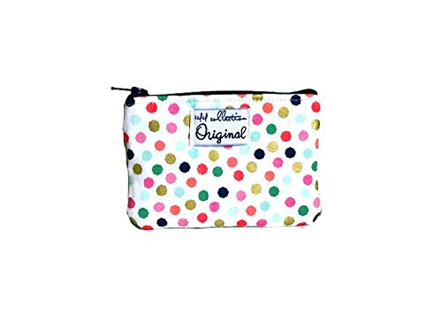 Polka Dot Coin Purse, Coin Pouch for Women, Small Coin Wallet, Polka Dot Wallet by 144 Collection