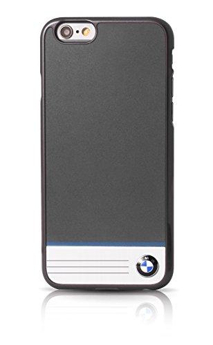 BMW BMHCP6BGPB Einzel Streifen Aluminium-Platte harte Schutzhülle für Apple iPhone 6/6S 11,9 cm (4,7 Zoll) grau