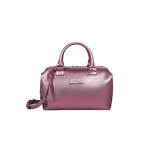 Lipault Women's Miss Plume Bowling S Shoulder Bag, Pink Gold, One Size (Pink Ladies Bowling Bag)